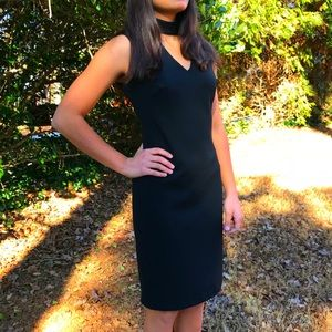 Calvin Klein Black Midi Dress